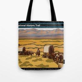 Vintage Poster - Oregon National Historic Trail (2018) Tote Bag