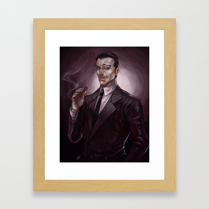 ADDAMS FAMILY - Gomez Framed Art Print