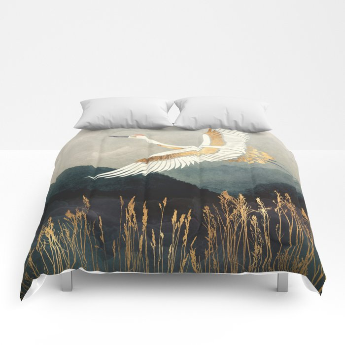 Elegant Flight Comforters