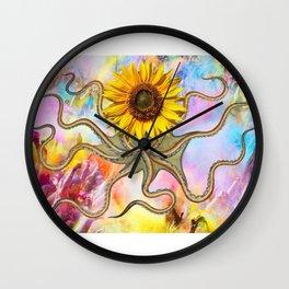 octoflower Wall Clock