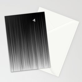 Escaping Triangle Stationery Cards