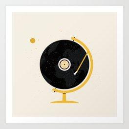 A New World Record Art Print