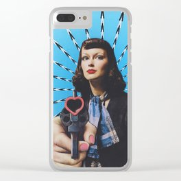 Stop! In the Name of Love Clear iPhone Case