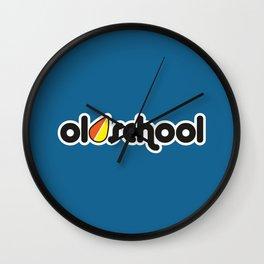 OLDSCHOOL v1 HQvector Wall Clock