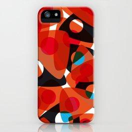 orange 70s iPhone Case