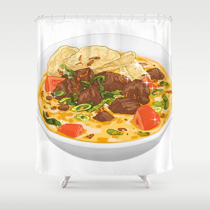 Soto Betawi Shower Curtain