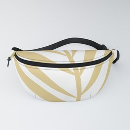 Tropical Yellow Leaf Fanny Pack