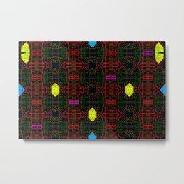Colorandblack serie 32 Metal Print