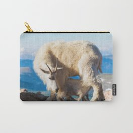 Mountain Goats Nanny And Kid Carry-All Pouch