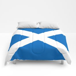 flag of scotland – scotland,scot,scottish,Glasgow,Edinburgh,Aberdeen,dundee,uk,cletic,celts,Gaelic Comforters
