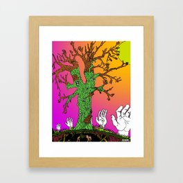 Reach For The Sun Framed Art Print
