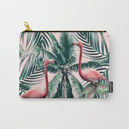 Flamingo tropics Carry-All Pouch