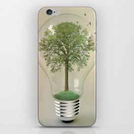 green ideas iPhone Skin