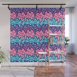 Slime Pattern (Cotton Candy) Wall Mural