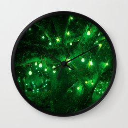 Light bulb garden Wall Clock