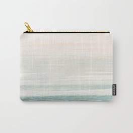 Washed Out Ocean Waves // California Beach Surf Horizon Summer Sunrise Abstract Photograph Vibes Carry-All Pouch