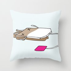Life's a tea party II Throw Pillow