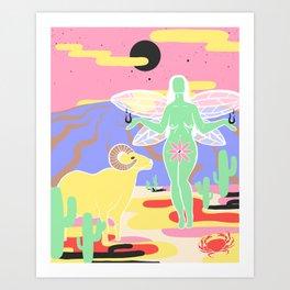 Morgan Olivia Art Print