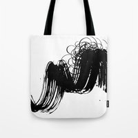 sketch Tote Bags featuring sketch by gloriuos days