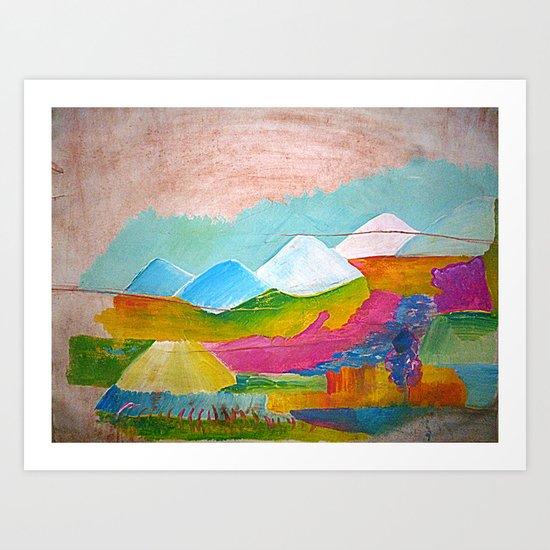 Tampul Art Print