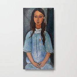 "Amedeo Modigliani ""Alice"" Metal Print"