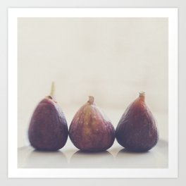 Fig photograph. We 3 Figs Art Print