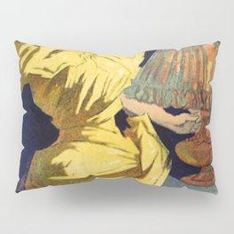 Saxol Ine P Trole De Suret 1895 By Jules Cheret | Reproduction Art Nouveau Pillow Sham