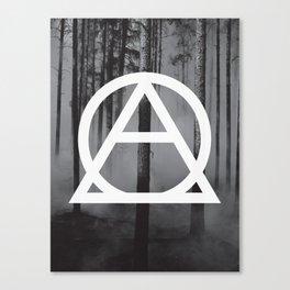 Devastated Forest Canvas Print