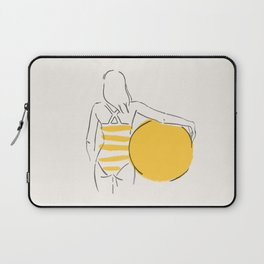 Summer ready - line drawing Laptop Sleeve
