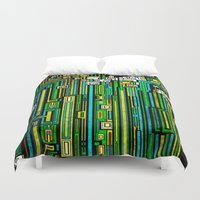 tree of life Duvet Covers featuring Tree Of Life by Steve W Schwartz Art