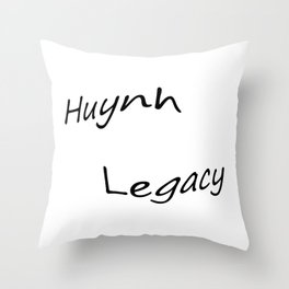 Huynh Legacy  Throw Pillow