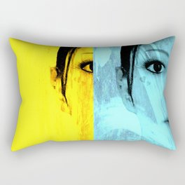 My Doppelganger - Wiped (Effect) Rectangular Pillow