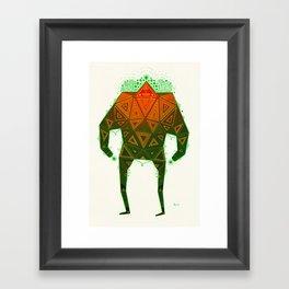 Yello Warrior Framed Art Print