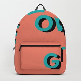 get over it Backpack