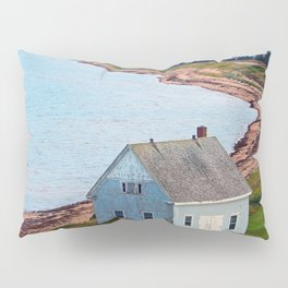 Beach and Causeway, seen from Above Pillow Sham