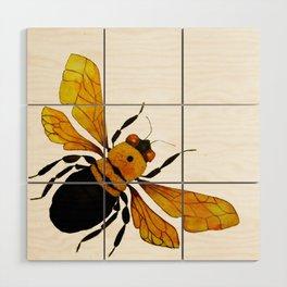 Bumble Bee Wood Wall Art