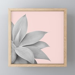 Agave Finesse #5 #tropical #decor #art #society6 Framed Mini Art Print