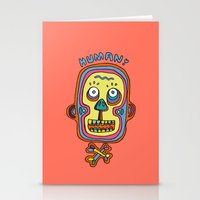 human Stationery Cards featuring Human  by PINT GRAPHICS