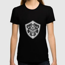 Zelda Black Shield T-shirt