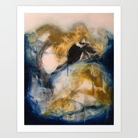 Uncovered Art Print