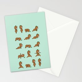 Yoga Bear Stationery Cards