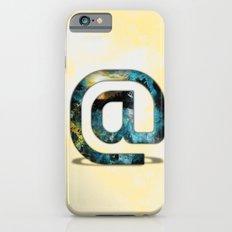 At Sign {@} Series - Silom Typeface Slim Case iPhone 6s
