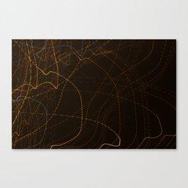 Stream The Lights Canvas Print