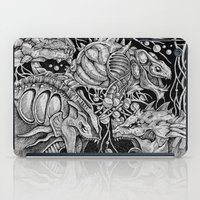 dragons iPad Cases featuring Dragons by Walid Aziz
