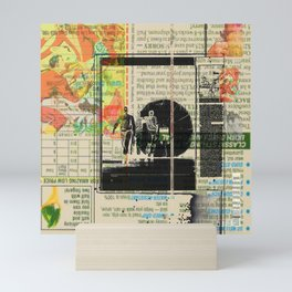 Rauschenberg Rumble (for Hip Kidds) Mini Art Print