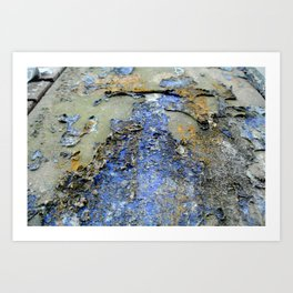 Peel Art Print