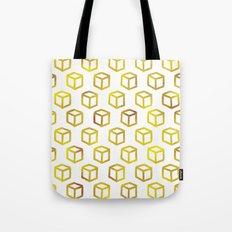 Geometric gold pattern Tote Bag