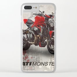 Monster 1200 R Clear iPhone Case