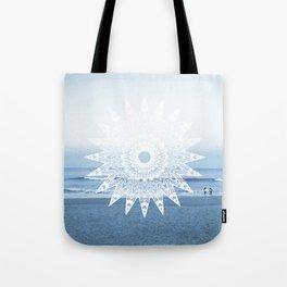 Surf mandala Tote Bag