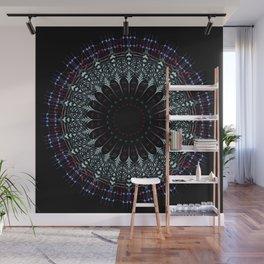 Futuristic Mandala art Wall Mural